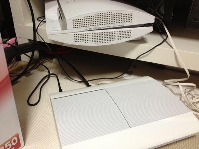 初期型PS3から最新型PS3(CECH-4000)にデータ転送ユーティリティを使ってtorneデータを移行成功。