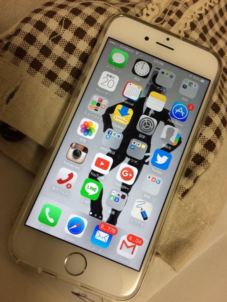 iphone6s到着。