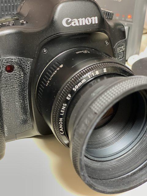 EOS 5D(初代)と50mm F1.8 II の手持ち撮影の下限設定は?