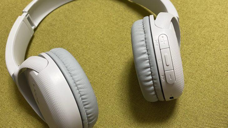WH-CH510 Bluetoothヘッドホンを購入。