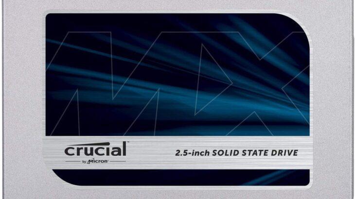 Crucial SSD 1000GB MX500を購入。M.2 SSDとの速度差は?
